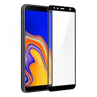 Защитное Full Glue 3D стекло Samsung J4 plus/J6 plus/J415 черное