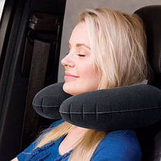 Надувной подголовник Intex 68675 Travel Pillow (36х30х10 см), фото 3