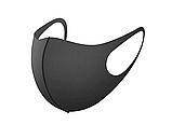 Трехслойная защитная маска многоразовая (неопрен), малиновая, фото 7
