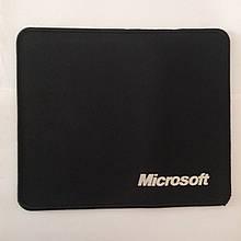 Коврик для мыши Майкрософт Black 25×21