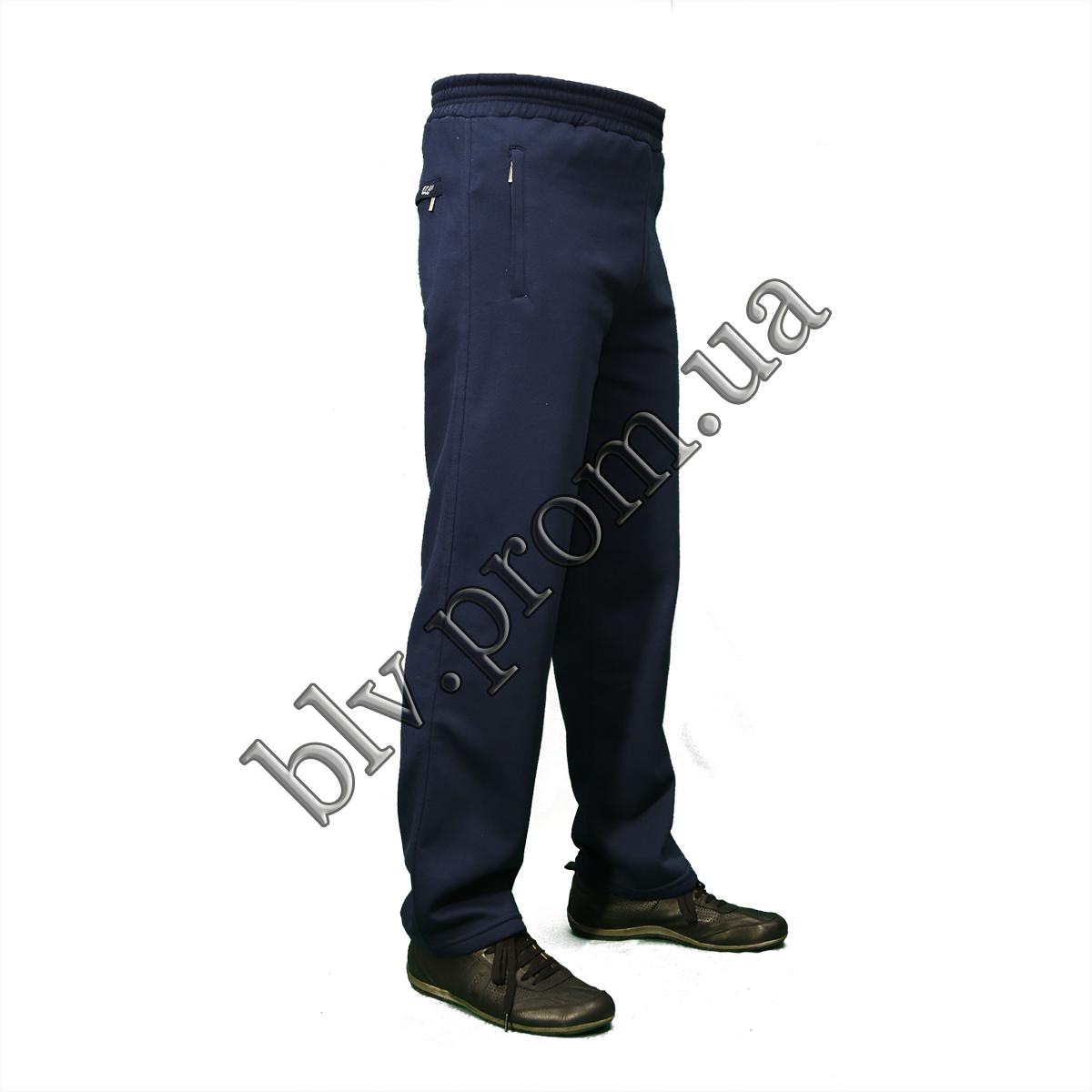 Теплые мужские брюки байка KD314 Indigo