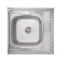 Кухонная мойка Imperial 6060-L Satin (IMP6060LSAT), фото 1