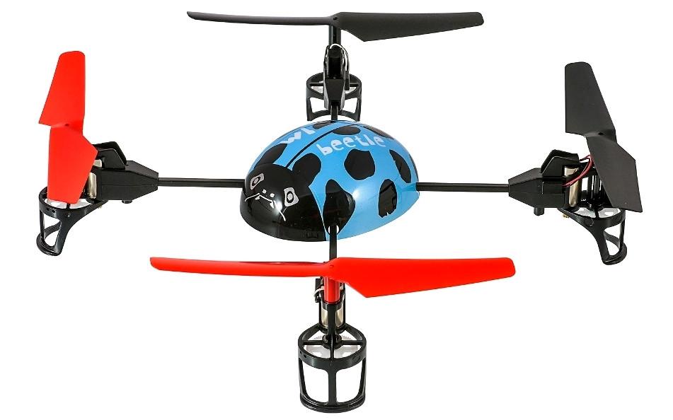 Квадрокоптер WL Toys V929 Beetle (синий)