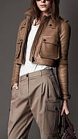 Коротка куртка з нубука, довжина 45см, фото 1