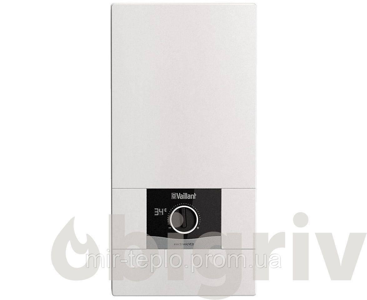 Проточный водонагреватель VAILLANT  VED E 27/8 B