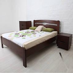 Дерев'яні полуторні ліжка