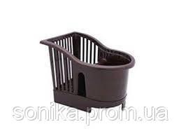 Сушарка пластикова для столових приладів 17*13*14см 167093