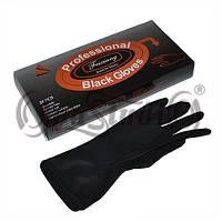 Перчатки чёрные латексные Feixiang для парикмахеров 20шт/ уп OpusPro
