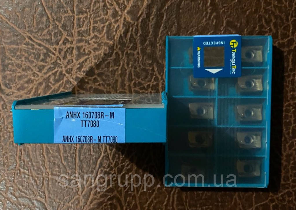 Пластина твердосплавная TAEGUTEC ANHX 160708R-M TT7080