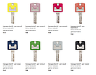 Цилиндр Abus Bravus compact 1000 90 (30x60) ключ-ключ, фото 6