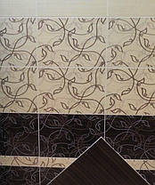 Фриз Beryoza Ceramica Джаз  бежевий   35х5,4, фото 2