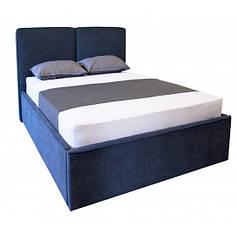 Ліжка Полуторні з м'яким узголів'ям та підйомним механізмом