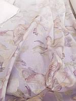 Легкая Льняная ткань с абстрактным рисунком, фото 1