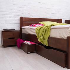 Ліжка полуторні з ящиками
