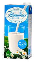 Самовывоз со склада Молоко 1литр Нежинское 2.5%