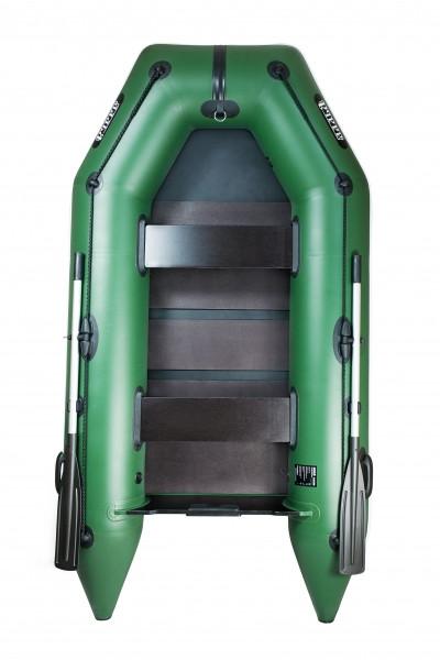 Надувная лодка Ладья ЛТ-270МЕ с подвижным сиденьем