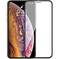 Защитное Full Glue 3D стекло iPhone XS Max 6.5 черное