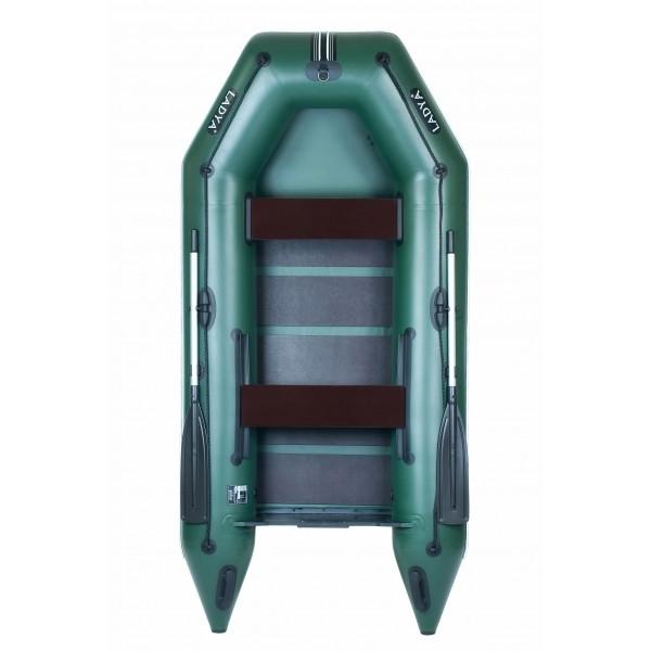 Надувная лодка Ладья ЛТ-290МЕ с подвижным сиденьем