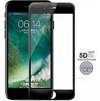 Защитное Full Glue 3D стекло iPhone 7 plus/8 plus черное