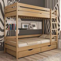 Двоярусні ліжка дерев'яні