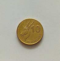 10 нгве Замбия 2012 г., фото 1