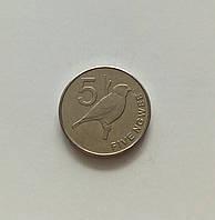 5 нгве Замбія 2013 р., фото 1