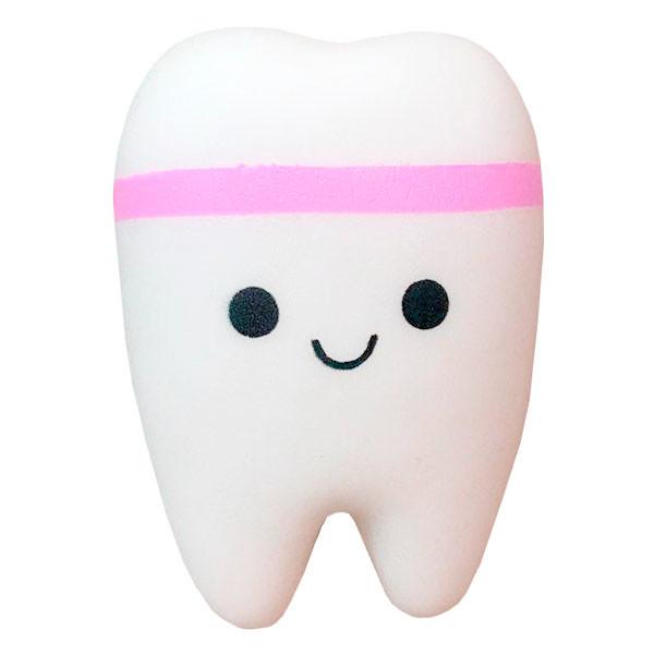 Игрушка-антистресс сквиш зуб