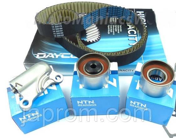 Комплект ремня ГРМ Mazda 626 GF 323 BJ Premacy 2.0 дизель NTN + Dayco 153 з*27 RF2A RF3F RF4F