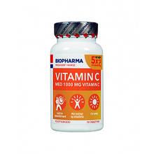 Витамины Biopharma Vitamin C 1000 - 70 капсул Норвегия