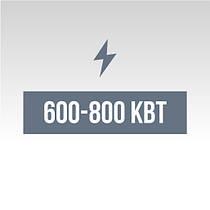Дизельные генераторы от 600 до 800 кВт