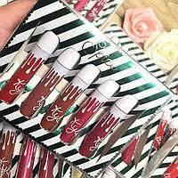 Набор матовых жидких губных помад Kylie Spice