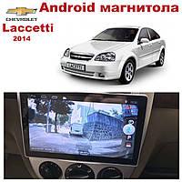 Штатная автомагнитола для Chevrolet Lacetti 2007 на ANDROID 8.1