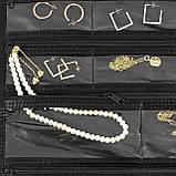 Органайзер для бижутерии и украшений с вешалкой, фото 5