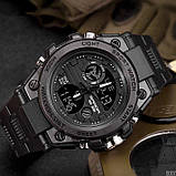 Мужские спортивные часы Sanda 739 All Black, фото 2