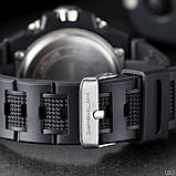 Мужские спортивные часы Sanda 739 All Black, фото 3