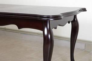 Стол кухонный ROYAL (Роял) Микс мебель, цвет  темный орех / венге-шоколад, фото 2