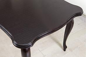 Стол кухонный ROYAL (Роял) Микс мебель, цвет  темный орех / венге-шоколад, фото 3