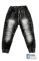 Детские черные джинсы для мальчика.