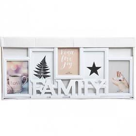 """Фоторамка - колаж """"Сімейна"""", Рамка для фотографий """"Family"""" 195"""