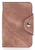 Удобная женская карманная визитница на кнопке APPLE art. Б/Н визитница Бежевый