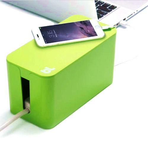 Органайзер для проводів вогнестійкий Cablebox Mini Bluelounge (green)