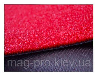 Искусственная трава красная 5 мм, фото 2
