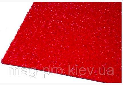 Искусственная трава красная 5 мм