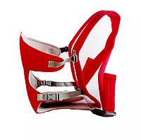 Сумка-кенгуру SUNROZ YEBD-2 Baby Carrier рюкзак для переноски ребенка Красный, фото 1