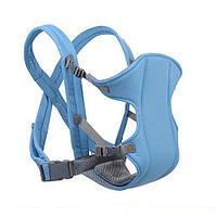 Сумка-кенгуру SUNROZ YEBD-2 Baby Carrier рюкзак для переноски ребенка Голубой, фото 1