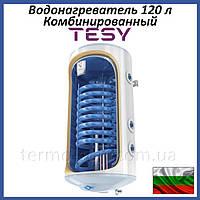 Бойлер 120 литров Tesy Bilight GCV9S 1204420 B11 TSRCP правый. Комбинированный накопительный водонагреватель