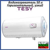Бойлер 50 литров Tesy Bilight Slim GCH 503520 B12 TSR правый. Электрический водонагреватель горизонтальный
