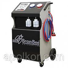 Автоматическая установка для обслуживания кондиционеров легковых автомобилей BRAIN BEE 6000 PLUS