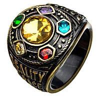 Перстень Таноса SUNROZ Thanos Ring розмір 8 Бронзовий
