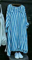 Туніки, сорочки, блузи льняні
